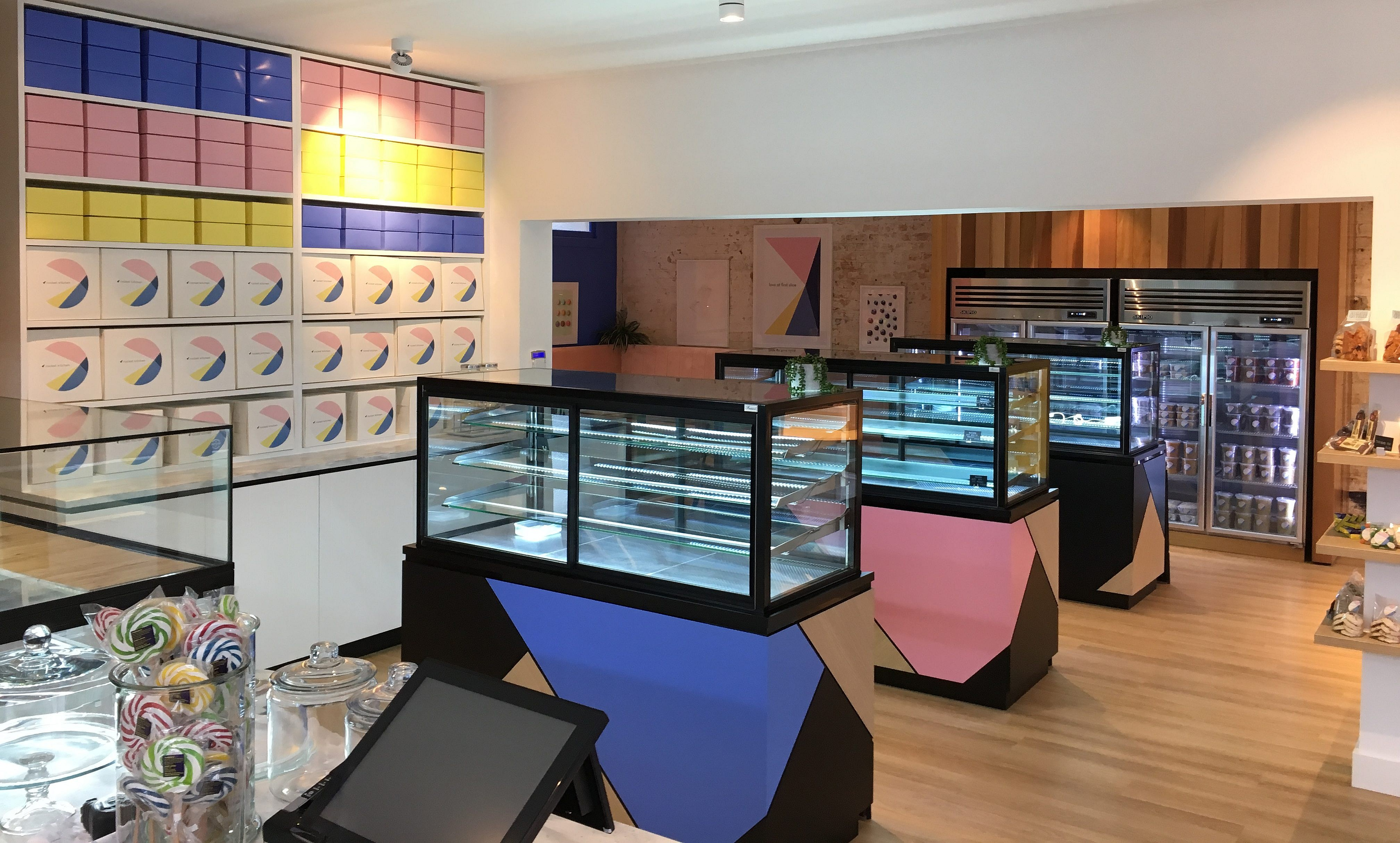 Datum Projects fitout of Rocket Kitchen